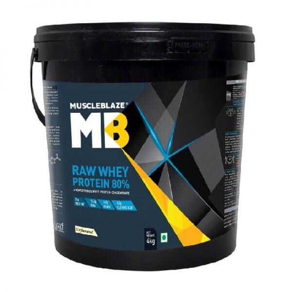 MuscleBlaze Raw Whey Protein