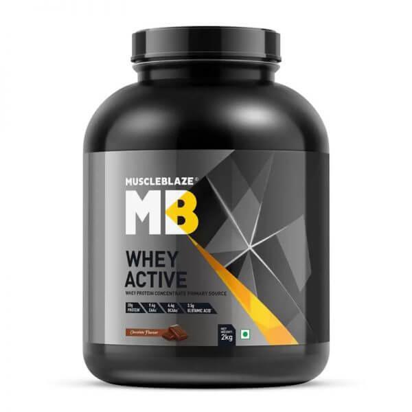 mucleblaze whey active 2kg
