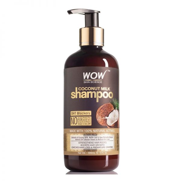 WOW Coconut Milk Shampoo